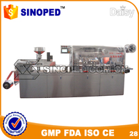DPP-250 small alu alu blister packing machine for candy