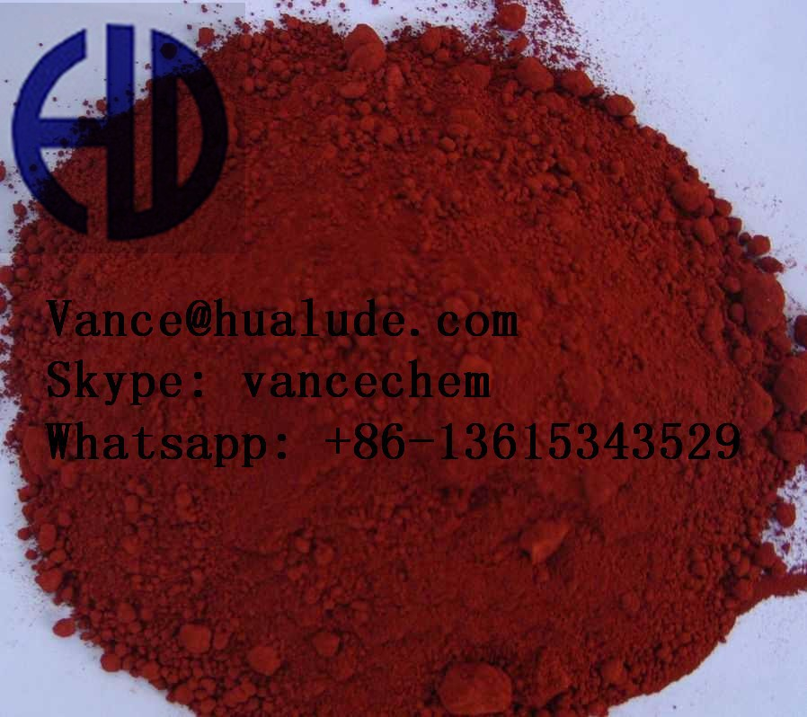 China pigment red Iron Oxide for rubber coating paint plastic
