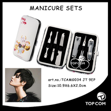 highly quality travel tag manicure set