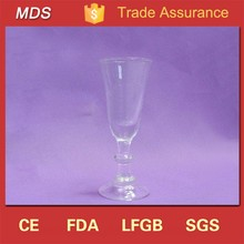 Spiral 1oz wine glass cup in factory china