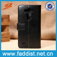 Leather case for LG g3 case card slots