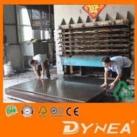610 x 2440 x 18mm melamine glue senzhao black film faced plywood price To Saudia Arabia