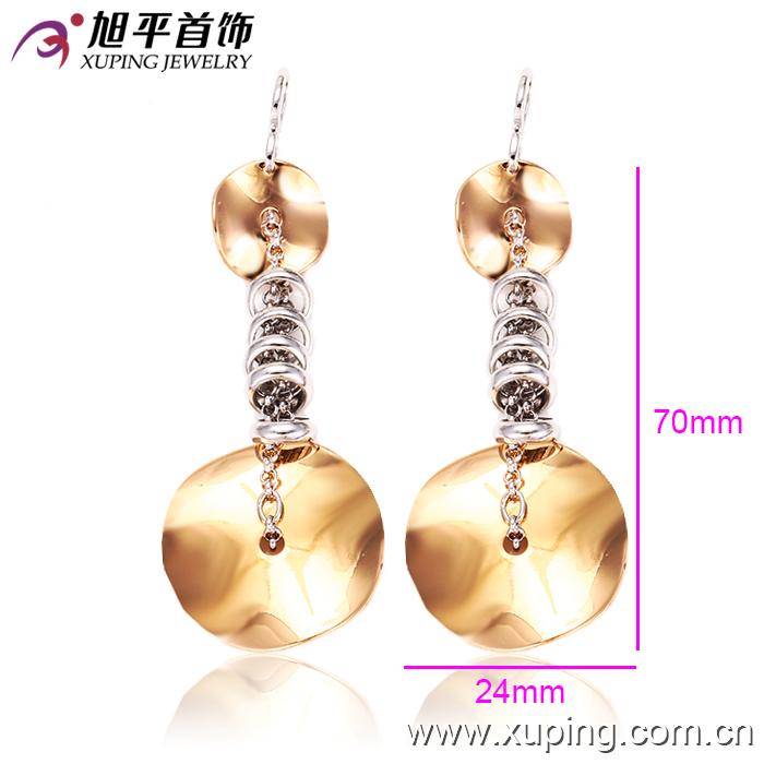 gold covering smart earring gold plated fashion jewellery