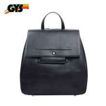 Customized Logo Travelling PU Leather Backpack Bag