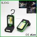 Hanging Multi-use COB+3 LED Folding Magnetic Work Light with 2 Modes
