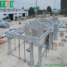Concrete Construction Chinese Aluminium Alloy Formwork & Steel Accessories