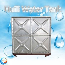 Factory price!! Huili 300 gallon galvanized steel water storage tank
