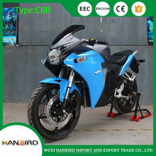 HBC cheap mid drive chinese sport racing motorcycles with video