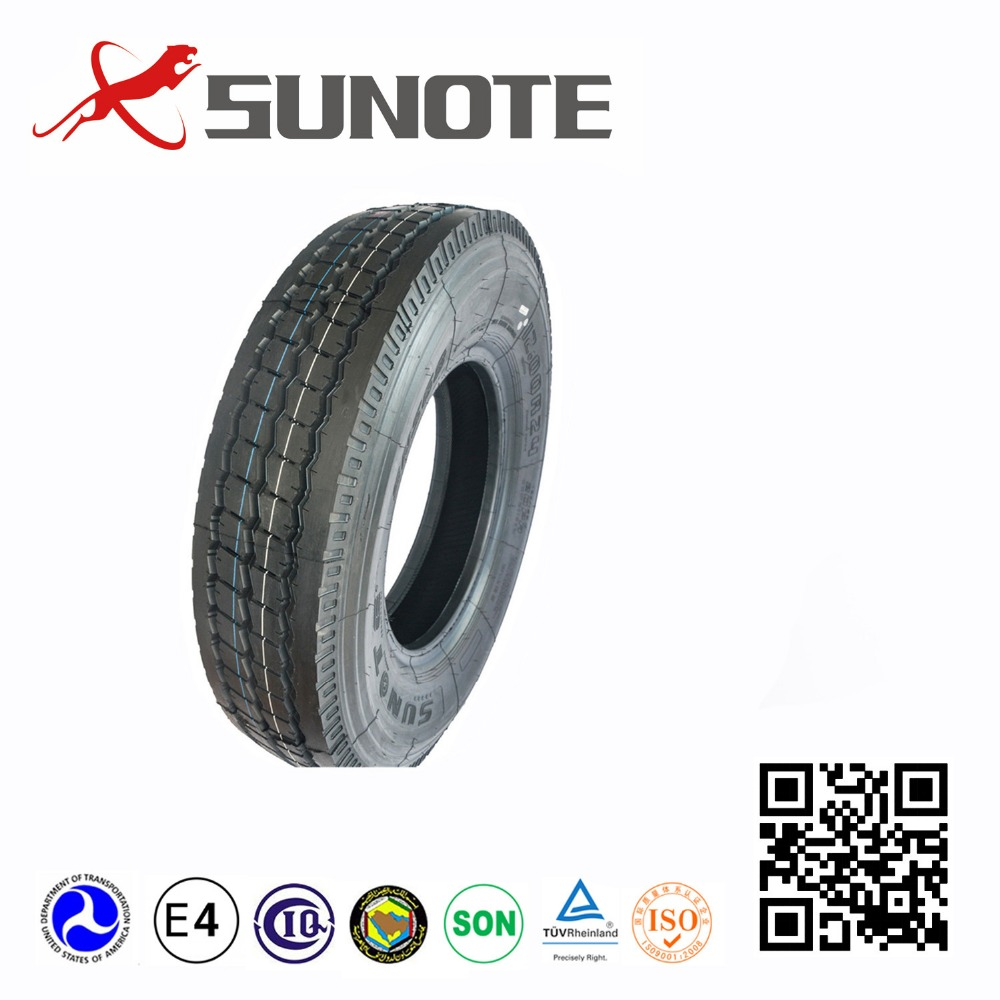 lowest price SUNOTE brand truck tire in stock 315/80R22.5