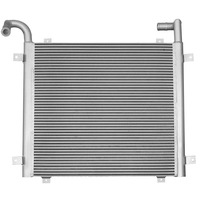 Aluminum plate and bar radiator core