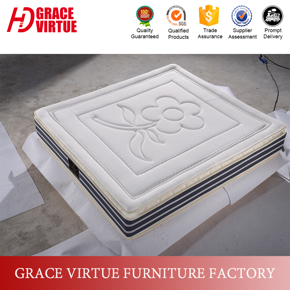 Natural latex foam mattress,superb comfortable memory foam mattress
