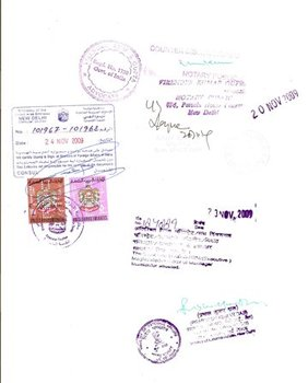 Document Attestation from Ministry of External Affairs & embassy in India