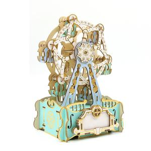 Cutting-Edge ODM 3D Wooden Musical Box Puzzle For Lovers