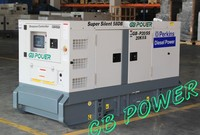 60kva super silent generator shanghai china factory