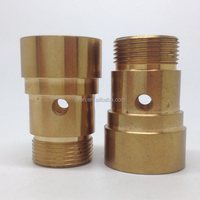 High precision oem brass metal cnc components