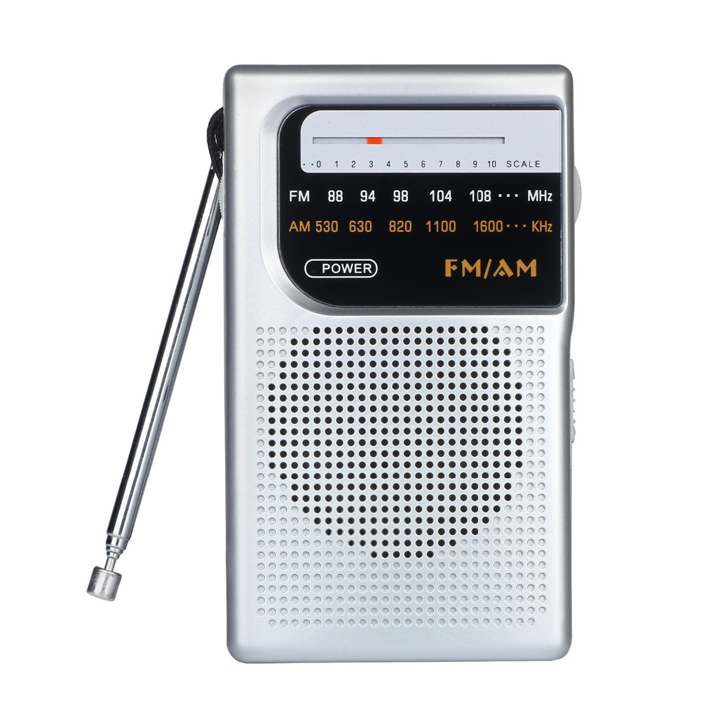 Portable am fm 2 band radio receivers