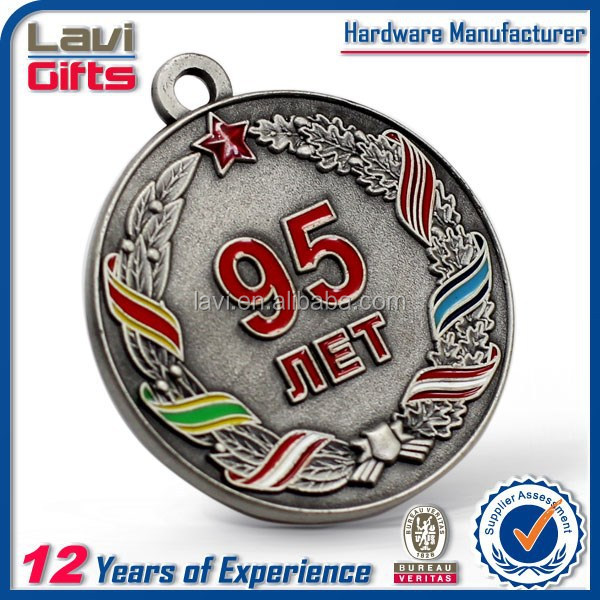 cheapest custom old silver coin plated with OEM shape