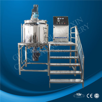 Chemical material reaction tank material mixing machine