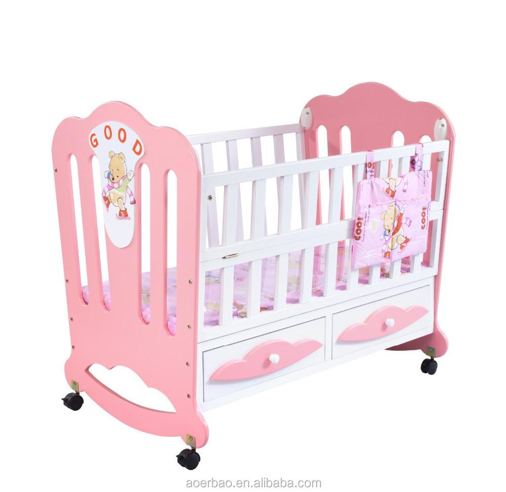 solid wood baby furniture. 2016 Chinese Cama Bebe/baby Bebe Kids Babies Children Toddler Bed Crib Swing Cot Solid Wood Baby Furniture