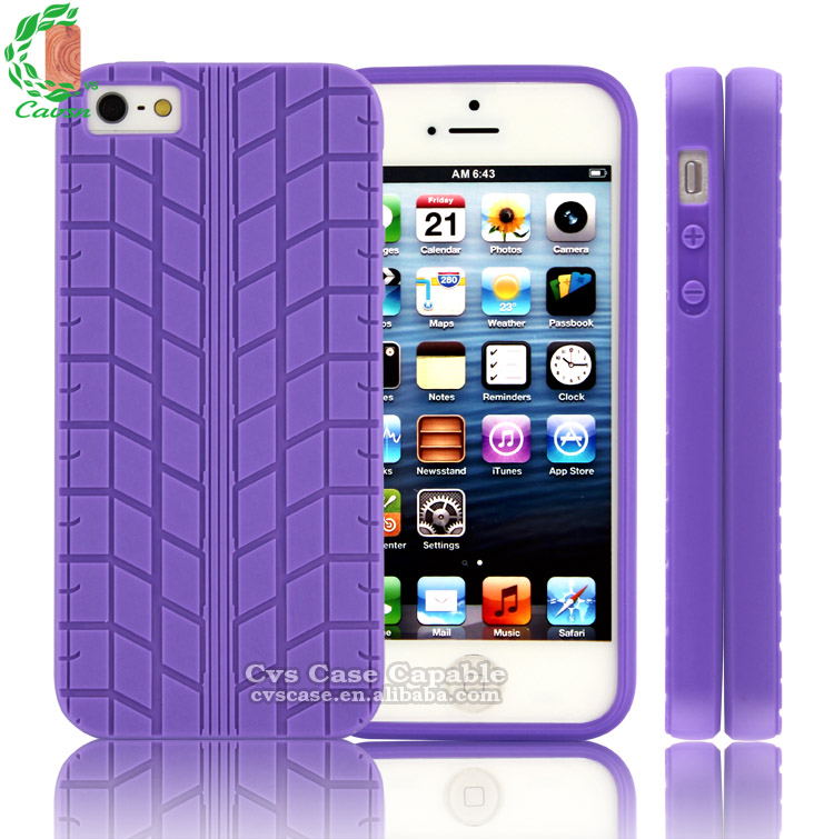 TPU Tyre Case For iPhone 5s