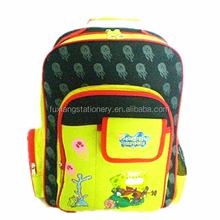 Cartoon backpack waterproof school bag for kids