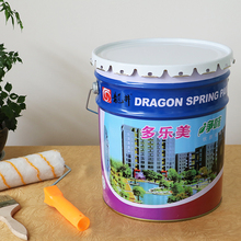 Fresh odor washable multi color interior wall paint
