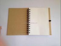 cheap stationery noteboook &hot sale spiral notebook with pen
