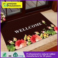 High quanlity waterpoof anti -slip durable cheap multifunctional door mats ,Wholesale Recycled Door Mat152,Christmas printed