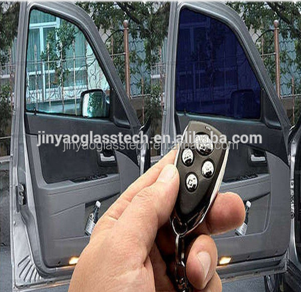 Self-adhesive PDLC Smart film/smart glass tinting for car on sale
