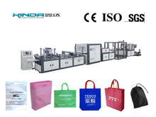Non-woven Box Bag Making Machine With Online Handle Attach Machine(6-in-1)