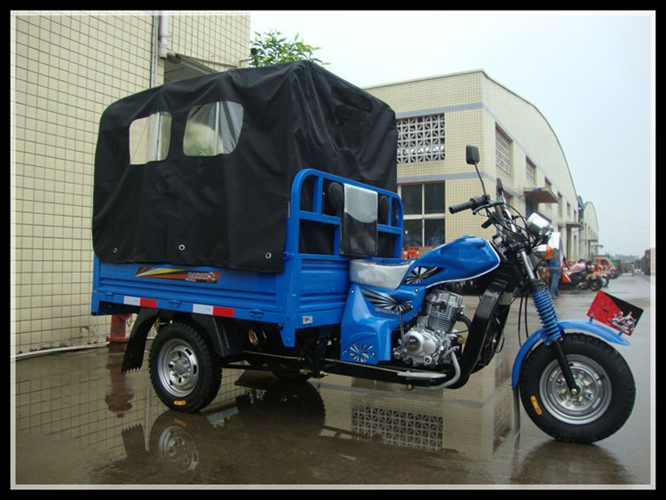 made in Chongqing China tricycle 150cc 200cc 250cc water air cooled cabin tricycle