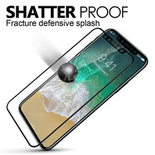 Hot Product Oleophobic Coating Full Cover Tempered Glass For Iphone X For Screen Protector