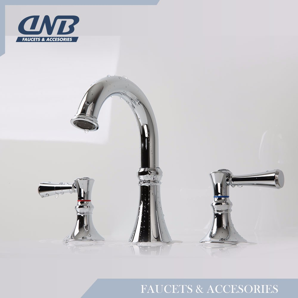 Widespread Two Handle Upc Water Saver Faucet Bathroom
