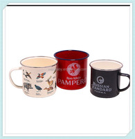 High Quality Porcelain Enamel Metal Cup