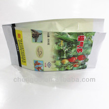 Four side sealed plastic laminated packaging bag for Granules of pesticide