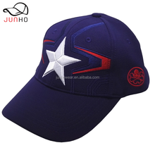 2018 Two color navy blue burgundy ottoman rib fabric baseball cap strap baseball cap embroidery Seam tape print baseball cap