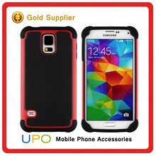 [UPO] Football textured Hybrid combo case for Samsung Galaxy S5