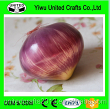 Handmade Decorative Artificial fake food Onion model
