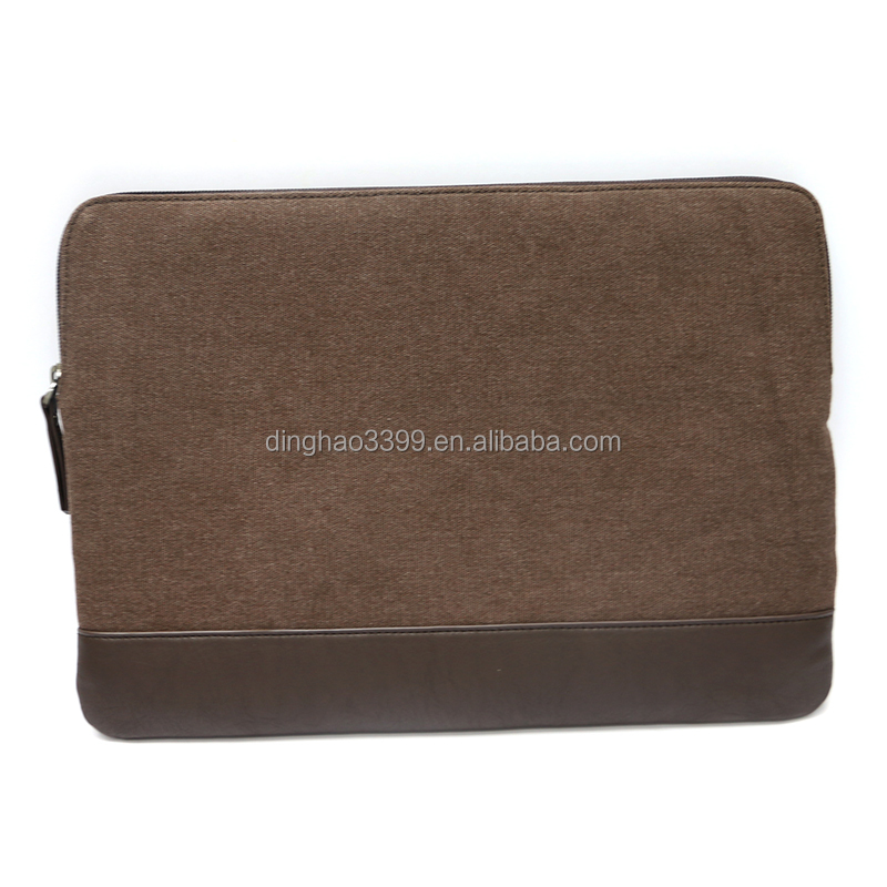 Promotional factory price hot selling simple brown custom mens travle toiletry bag