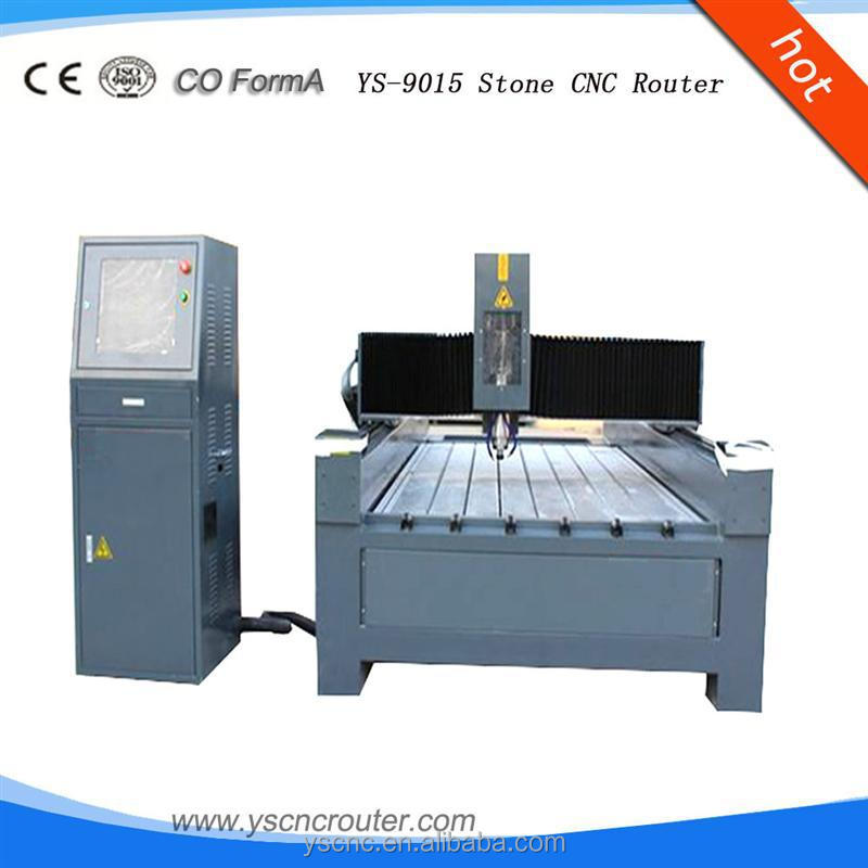 used water jet cutting machine jinan ys hot sale high quality stone cnc router