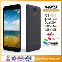"Cheap Big Touch Screen M79 5.5"" MT6735 Quad Core 5+8MP camera android 5.1 OEM ODM 4G smartPhone"