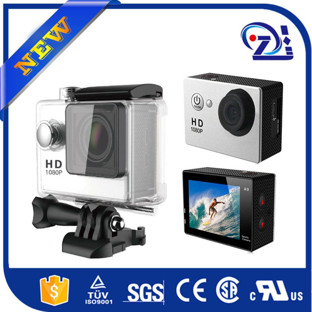 Extreme Sports Cam with Branded Sensor / 1080P Full HD 60FPS, Wifi, Sport DV Model