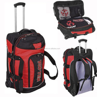 Larg capacity Rolling Travel duffel bag/ trolley Luggage Backpack Bag
