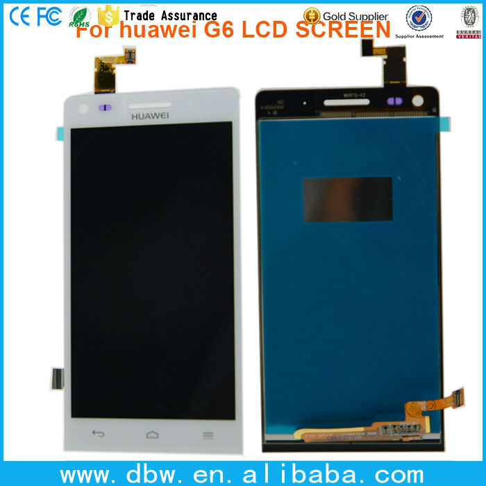 lcd touch screen with frame for Huawei Ascend G6