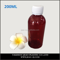 High Quality 200ml Plastic Brown Pill Medicine Bottles/Liquid Medicine Bottles/Capsule Bottle for Veterinary