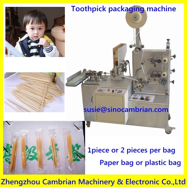 New design plastic bottle toothpick packaging machine to make toothpick in bottle packaging