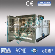100KG capacity Production freeze dryer / lyophilizer for pharmaceutical
