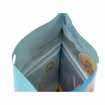 High Quality Stand Up Pouch With Zipper For Packing Fish Food