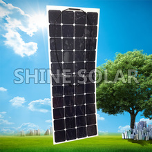 Most efficient mono solar panel energy power system flexible solar panel 135W
