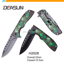 Hot sell customized OEM knife tactical custom pocket knife with aluminum handle